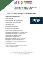 10.1. Direcții Privind Conținutul Portofoliilor