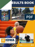 2019 Summer Iowa Senior Games Results Book