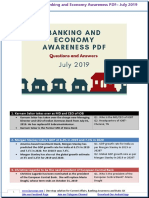 Banking and Economy PDF July 2019
