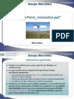 PowerPoint Minieolica