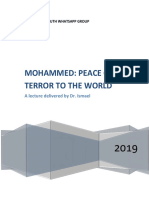 Mohammed Peace or Terror to the World
