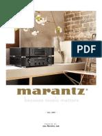 Marantz Pricelist 2018 07