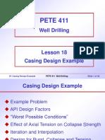 18. Casing Design Example