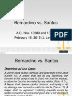 Bernardino vs Santos