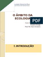 Aula-O Âmbito da Ecologia.ppt