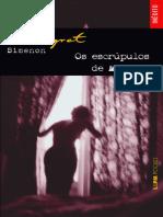 Escrupulos de Maigret - Georges Simenon