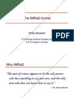 IMRAD Formate