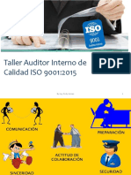 Taller Auditor Interno, Resumen