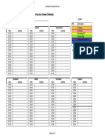 Prospect Activity Sheet - Time Budgeting