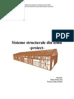 proiect lemn