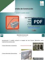 GENERALIDADES DE MAMPOSTERÍA DE PIEDRA