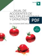 Muestra Libro Accidentes Multiples Victimas Castastrofes Susana Simo
