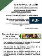 Tema 3 Codex Alimentarius