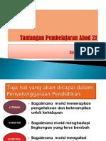 01. Tantangan Pendidikan Abad 21