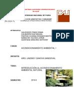 Problemas Ambientales y Diseño de Viviendas