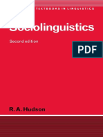 (Cambridge Textbooks in Linguistics) R. A. Hudson - Sociolinguistics-Cambridge University Press (1996).pdf