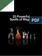 25 Magic k Spells