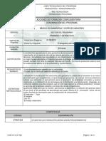 Informe Programa de Formación Complementaria (Bgem)