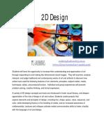 2d design syllabus