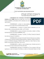 PROEXUFCA Resolução de Integralização Da Extensão Na UFCA Integralização Da Extensão 16.05.2019