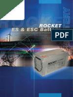 Rocket Batteries Cataloug