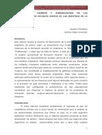 Fischman-continuidades,Cambios en Representac Soc d Maestras