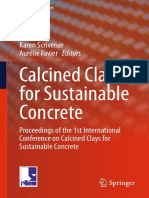 Calcined Clays for Sustainable Concrete Karen Scrivener, AurÇlie Favier, 2015
