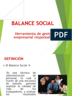 Balance Social Taller