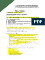 2 - Avaliação do paciente quanto ao risco de cárie II