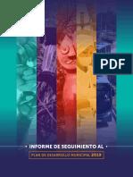2019 Informe Especial Seguimiento Al Plan de Desarrollo Municipal