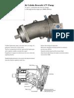 A7V Piston Pump