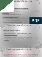 Trabajo 1 Programa OLPC Peru