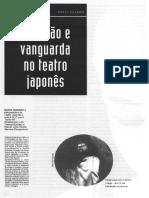 Tradição e Vanguarda no Teatro Japonês