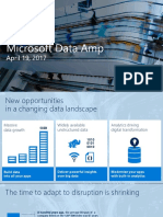 Optimize Your Data Strategy From on-premises to Cloud Data Amp 2017