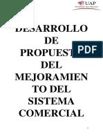 Proyecto Mejoramiento Del Sistema Comercial 123[1]