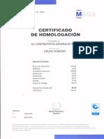 Certificado - Jlc Contratistas Generales Sac