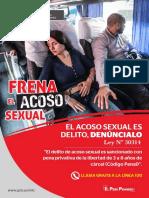 Afiche A3 Freno Al Acoso Sexual Interprovincial