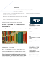 call for papers illustration and adaptation