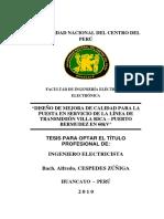 ANÁLISIS DE LA INDUCCIÓN ELECTROMAGNÉTICA DE LÍNEAS DE TRANSMISIÓN SOBRE DUCTOS SUBTERRÁNEOS