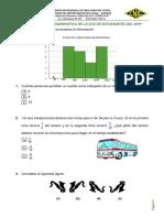 Prueba Diagnostica Matematica 2019