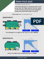 Push Fold Quiz Answers