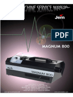 Martin Magnum 800 - Service Manual