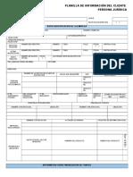 Planilla de Informacion Del Cliente PJ (2)