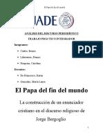 El Papa Del Fin Del Mundo (3)