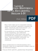Historia de la Eucaristía siglos I IV