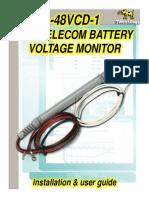 48VCD-1 -48V Telecom Battery Monitor (rev A-101).pdf
