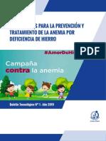 campaña contra la anemia