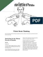 Tibetan paradox exercises