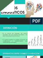 Cambios linguisticos
