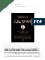 Dilemaveche.ro-colecționarul de Rit Vechi